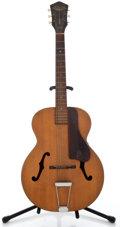 Musical Instruments:Acoustic Guitars, 1950's Harmony Patrician Project Natural Archtop Acoustic Guitar ...
