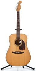 Musical Instruments:Acoustic Guitars, 1980's Fender Del Mar Natural Acoustic Guitar #412175...