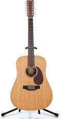 Musical Instruments:Acoustic Guitars, Martin D12X1 Natural 12 String Acoustic Guitar #1123341...