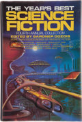 Books:Science Fiction & Fantasy, Gardner Dozois, editor. The Year's Best Science Fiction. Fourth Annual Collection. New York: St. Martin's Press,...