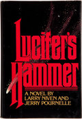 Books:Science Fiction & Fantasy, Larry Niven and Jerry Pournelle. Lucifer's Hammer. [Chicago]: A Playboy Press Book, [1977]. First edition. Ins...