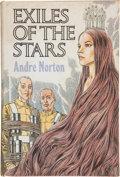 Books:Signed Editions, Andre Norton. Exile of the Stars. New York: The Viking Press, 1971. First edition. Inscribed by the author to Jerr...
