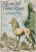 Books:Signed Editions, Andre Norton. Moon of Three Rings. New York: The VikingPress, [1966]. First edition. Signed by the author. ...