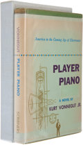 Books:Science Fiction & Fantasy, Kurt Vonnegut, Jr. Player Piano. New York: Charles Scribner's Sons, 1952. First edition. Octavo. 295 pages. Publ...