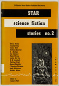 Books:Science Fiction & Fantasy, Frederik Pohl, editor. Star Science Fiction Stories No.2. New York: Ballantine Books, [1953]. First...