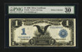 Large Size:Silver Certificates, Fr. 229a $1 1899 Silver Certificate PMG Very Fine 30.. ...