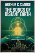 Books:Science Fiction & Fantasy, Arthur C. Clarke. The Songs of Distant Earth. London, et al.: Grafton Books, [1986]. First British edition. In...