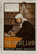 Books:Science Fiction & Fantasy, William Hope Hodgson. The Night Land. A Love Tale.London: Holden & Hardingham, Ltd., [1921]. Abridged edition....