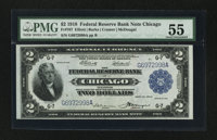 Fr. 767 $2 1918 Federal Reserve Bank Note PMG About Uncirculated 55