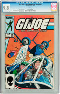 Modern Age (1980-Present):War, G. I. Joe, A Real American Hero #34 (Marvel, 1985) CGC NM/MT 9.8 White pages....