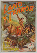 Books:Science Fiction & Fantasy, Edgar Rice Burroughs. Land of Terror. Tarzana: Edgar RiceBurroughs, Inc., 1944. First edition. Octavo. 319 page...