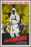 "Movie Posters:Horror, The Crazies (Cambist Films, 1973). One Sheet (27"" X 41""). Horror.. ..."