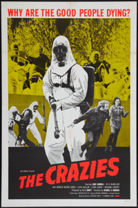 "The Crazies (Cambist Films, 1973). One Sheet (27"" X 41""). Horror"