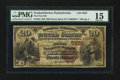 National Bank Notes:Pennsylvania, Fredericktown, PA - $20 1882 Brown Back Fr. 504 The First NB Ch. #(E)5920. ...