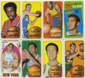 Basketball Cards:Lots, 1969-1971 Topps Basketball Group Lot of 24. Group consists of onecard from the 1969-70 Topps basketball issue and twenty-th...