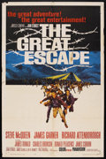 "Movie Posters:War, The Great Escape (United Artists, 1963). One Sheet (27"" X 41"").War. ..."