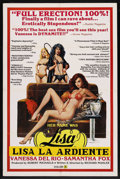 """Movie Posters:Adult, Her Name was Lisa (VCA, 1979). One Sheet (27"""" X 41""""). Adult. ..."""