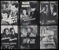 Movie Posters:Miscellaneous, Fox TV Pressbook Lot (20th Century Fox, 1950s). Pressbooks (6) (Multiple Pages). ... (Total: 6 Items)