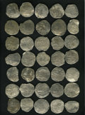 Bolivia: , Bolivia: Atocha. 35-piece lot of Grade 2 Philip III 8 Reales with Certificates, various assayers. Sold as is, no return lot.. F... (Total: 35 Coins Item)