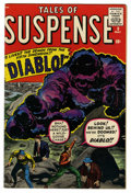 Silver Age (1956-1969):Horror, Tales of Suspense #9 (Marvel, 1960) Condition: FN-....