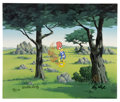 """Golf Collectibles:Autographs, """"In the Rough"""" International Limited Edition Hand-Painted Cel#11/25 Original Art (Walter Lantz Productions, 1992), Signed by ..."""