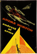 Books:Signed Editions, Andre Norton. Android at Arms. New York: Harcourt BraceJovanovich, [1971]. First edition. Signed by the author....