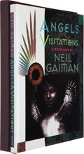 Books:Signed Editions, Neil Gaiman. Angels and Visitations. Minneapolis:Dreamhaven, 1993. First edition. Limited to 26 lettered copies, ...