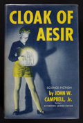 Books:Signed Editions, John W. Campbell, Jr. Cloak of Aesir. [Chicago]: Shasta Publishers, [ 1952]. First edition. Signed by the author ...