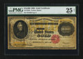 Large Size:Gold Certificates, Fr. 1225h $10000 1900 Gold Certificate PMG Very Fine 25 Net.. ...