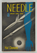 Books:Signed Editions, Hal Clement. Needle. Garden City: Doubleday & Company, 1950. First edition. Inscribed on the title page to Jer...