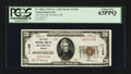 National Bank Notes:Oregon, Silverton, OR - $20 1929 Ty. 1 The First NB Ch. # 11106. ...