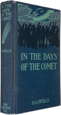 Books:Science Fiction & Fantasy, H. G. Wells. In the Days of the Comet. New York: The Century Co., 1906. First American edition. Octavo. 378 page...