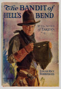 Books:Signed Editions, Edgar Rice Burroughs. The Bandit of Hell's Bend. New York:Grosset & Dunlap, [1925]. Later edition. Inscribed by t...