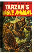 Golden Age (1938-1955):Miscellaneous, Dell Giant Comics - Tarzan's Jungle Annual #1-7 Bound Volume (Dell, 1952-58)....