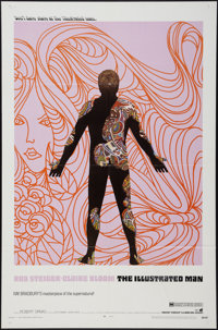 "The Illustrated Man (Warner Brothers, 1969). One Sheet (27"" X 41""). Science Fiction"