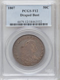 Early Half Dollars: , 1807 50C Draped Bust Fine 12 PCGS. PCGS Population (55/948). NGCCensus: (58/1397). Mintage: 301,076. Numismedia Wsl. Price...