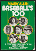 "Baseball Collectibles:Publications, ""Baseball's 100"" Multi Signed Book (61 Signatures)...."