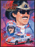 Miscellaneous Collectibles:General, Richard Petty Signed Magazine. ...