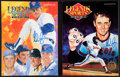 Baseball Collectibles:Publications, Nolan Ryan Signed Magazines Lot of 2....