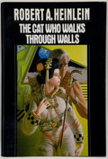 Books:Science Fiction & Fantasy, Robert A. Heinlein. The Cat Who Walks Through Walls. NewYork: G. P. Putnam's Sons, [1985]. First trade edition,...
