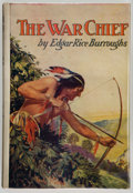 Books:Science Fiction & Fantasy, Edgar Rice Burroughs. The War Chief. New York: Grosset & Dunlap Publishers, [1928]. Reprint. From the library ...