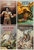 Books:Science Fiction & Fantasy, Robert E. Howard. Worms of the Earth; Almuric; TheIron Man; Mayhem on Bear Creek...