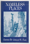 Books:Science Fiction & Fantasy, Gerald W. Page, editor. Nameless Places. Sauk City: Arkham House, 1975. First edition, first printing. With a ...