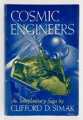 Books:Science Fiction & Fantasy, Clifford D. Simak. Cosmic Engineers. New York: Gnome Press, [1950]. First edition. Octavo. 224 pages. Illustrate...