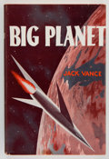 Books:Signed Editions, Jack Vance. Big Planet. New York: Avalon Book, [1957]. Firstedition, with no statement of printing on copyright pag...