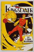 Books:First Editions, L. Rob Hubbard. The Kingslayer. Los Angeles: FantasyPublishing Co., 1949. First edition, Currey priority A. Octavo....