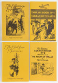 Books:Science Fiction & Fantasy, Edgar Rice Burroughs. Four Burroughs Bibliophiles Publications, including: The Girl from Farris's; The Effic... (Total: 4 Items)
