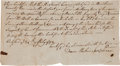 Autographs:Inventors, Document Concerning the Early Production of American Silk....