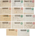 Autographs:Inventors, Wells Fargo Group of Fourteen Covers... (Total: 14 Items)