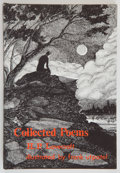 Books:Horror & Supernatural, H. P. Lovecraft. Collected Poems. Illustrations by FrankUtpatel. Sauk City, Wisconsin: Arkham House: Publishers...
